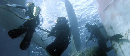 Underwater Propeller Repair