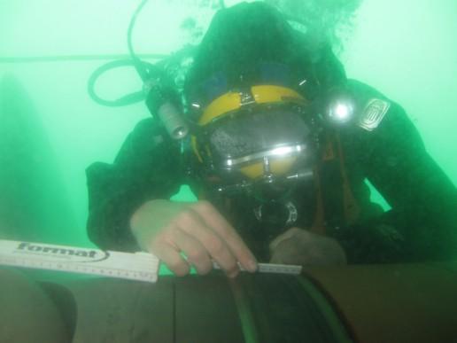 Underwater CCTV Inspections