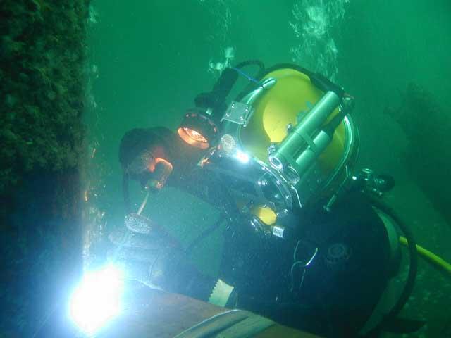 Underwater Welding Under 24 Hrs No Drydocking Fn Diving