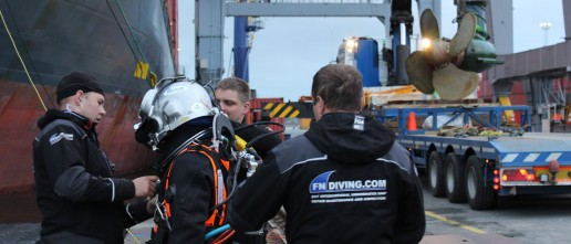 underwater Thruster repair propulsion Rotterdam